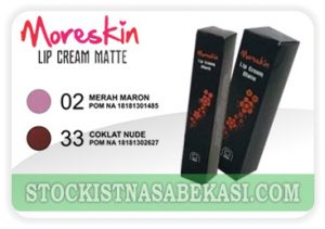 moreskin lip cream matte 33 02