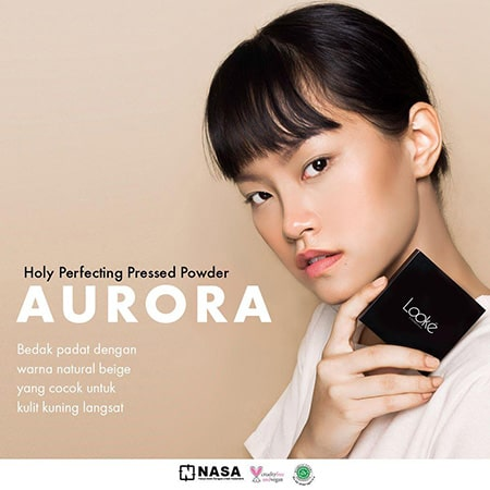 Looke Holy Perfecting Pressed Powder Aurora