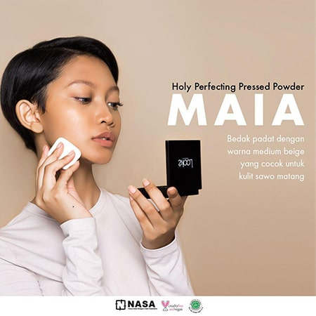 Looke Holy Perfecting Pressed Powder Maia